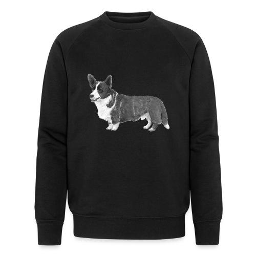 welsh Corgi Cardigan - Økologisk Stanley & Stella sweatshirt til herrer