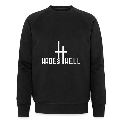 Hadeshell-white - Männer Bio-Sweatshirt