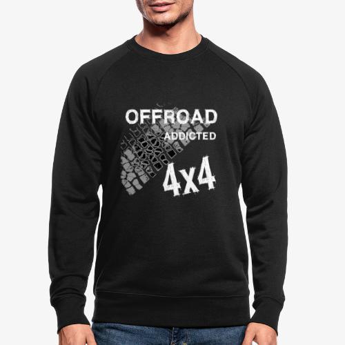 Defender Land-Rover OFF Road White - Männer Bio-Sweatshirt