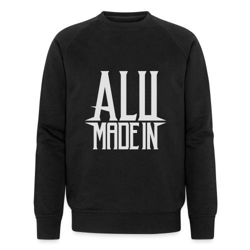 logo_alumadein_vecto_blan - Sweat-shirt bio