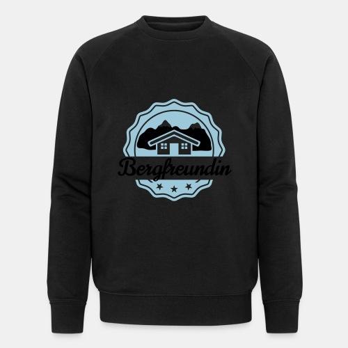 Bergfreundin - Männer Bio-Sweatshirt von Stanley & Stella