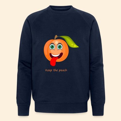 Whoua keep the peach - Sweat-shirt bio Stanley & Stella Homme