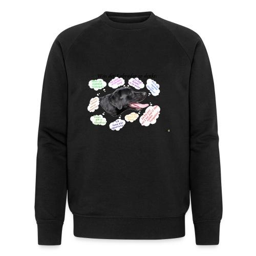 Labrador Gedanken - Männer Bio-Sweatshirt von Stanley & Stella
