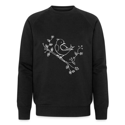 little Robin white - Männer Bio-Sweatshirt von Stanley & Stella