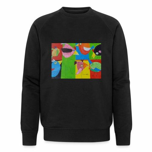 Lovebirds - Liebesvögel - Männer Bio-Sweatshirt von Stanley & Stella