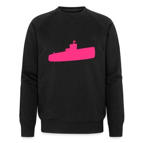 Rosa U-Boot - Männer Bio-Sweatshirt von Stanley & Stella