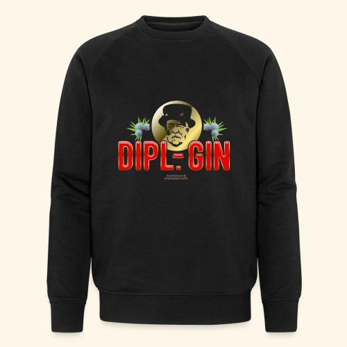 Gin T Shirt Design Dipl.-Gin - Männer Bio-Sweatshirt von Stanley & Stella