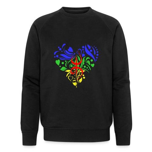 Amazigh berbère Coeur - Sweat-shirt bio Stanley & Stella Homme