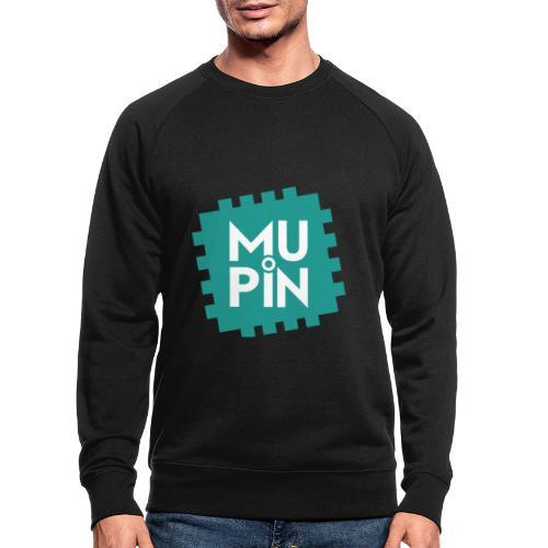 Logo Mupin quadrato - Felpa ecologica da uomo