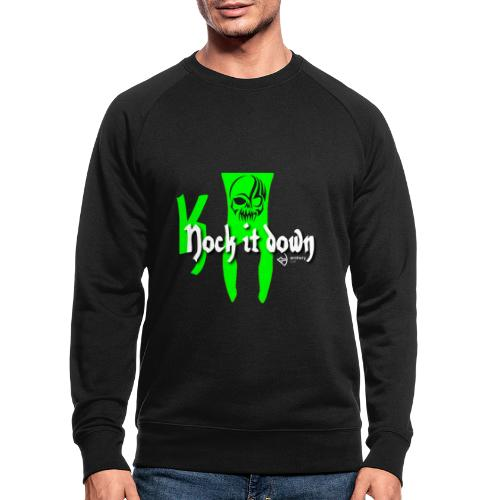 Nock it down - Männer Bio-Sweatshirt