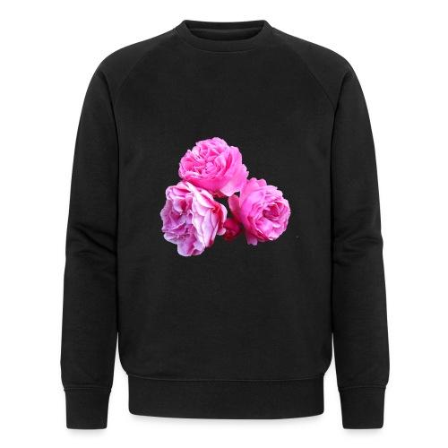 Rose rosa rot Sommer - Männer Bio-Sweatshirt von Stanley & Stella