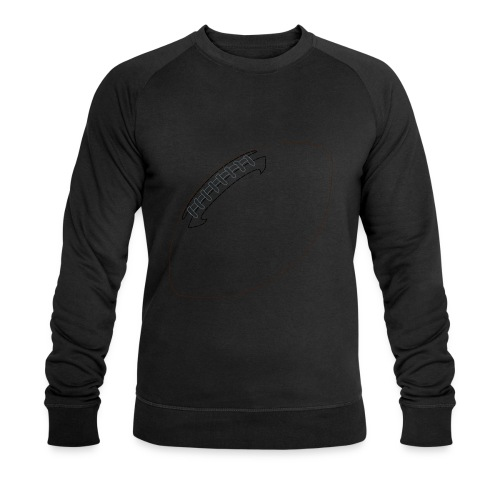 Football - Men's Organic Sweatshirt by Stanley & Stella