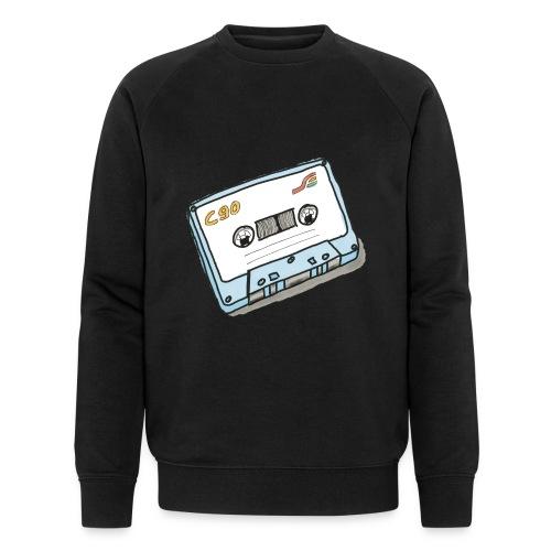 Cassette - Männer Bio-Sweatshirt
