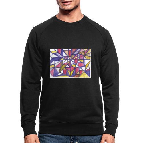 Flickenteppich - Männer Bio-Sweatshirt