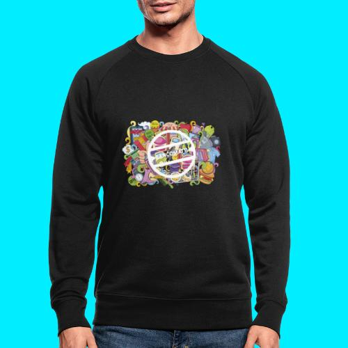 maglia logo doodle - Felpa ecologica da uomo