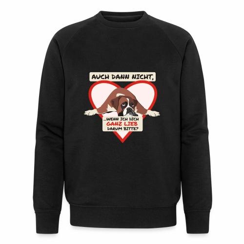 Hundeblick - Männer Bio-Sweatshirt von Stanley & Stella