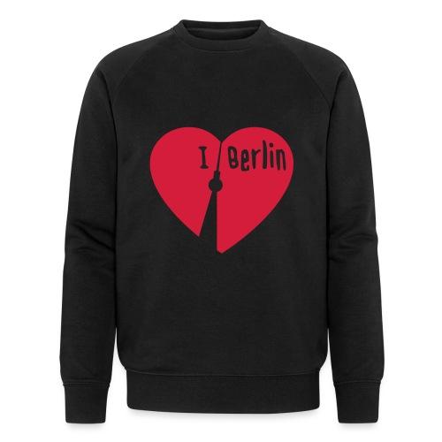 I love Berlin (1-farbig) - Männer Bio-Sweatshirt von Stanley & Stella