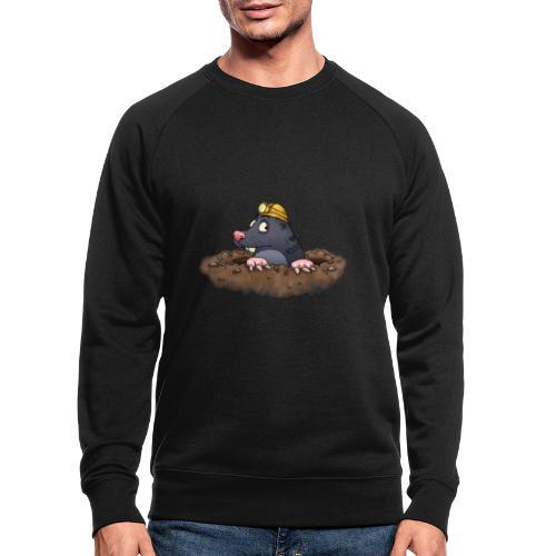 Maulwurf - Männer Bio-Sweatshirt