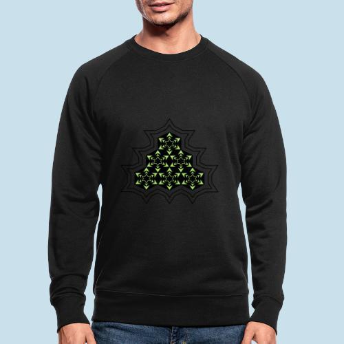 Stern - Männer Bio-Sweatshirt