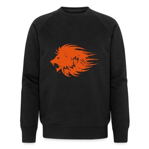 MWB Print Lion Orange - Men's Organic Sweatshirt by Stanley & Stella