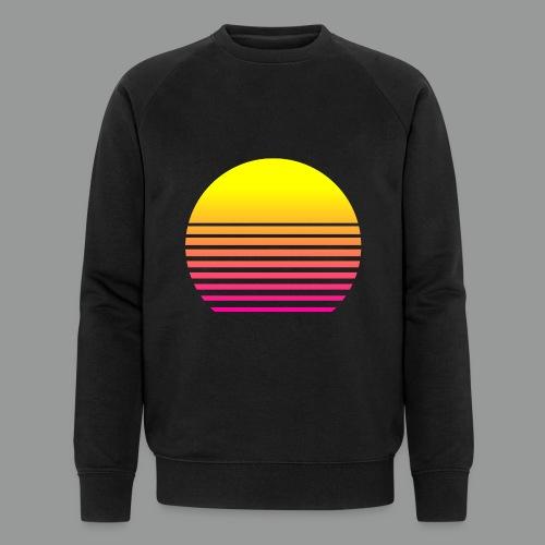 80s Sun - Männer Bio-Sweatshirt von Stanley & Stella