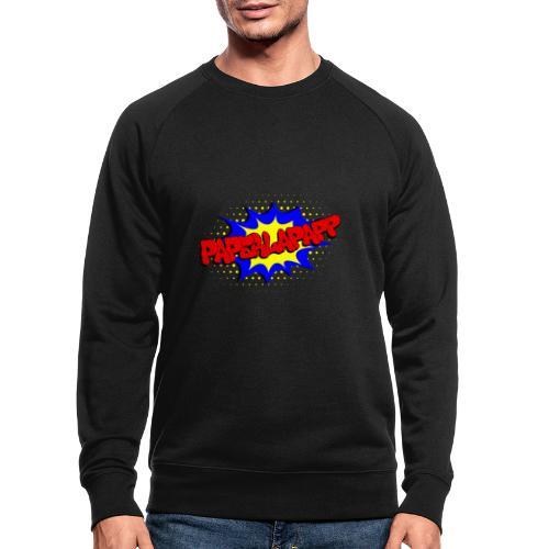 papperlapapp - Männer Bio-Sweatshirt
