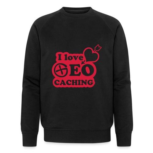 I love Geocaching - 1color - 2011 - Männer Bio-Sweatshirt von Stanley & Stella