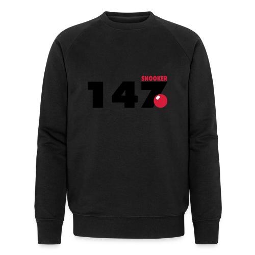 147 Snooker - Männer Bio-Sweatshirt von Stanley & Stella