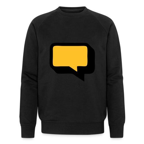 Sprechblase 3D 2c - Männer Bio-Sweatshirt von Stanley & Stella
