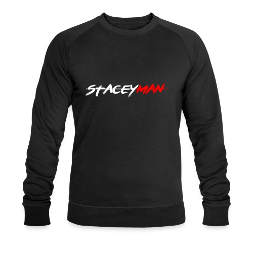 staceyman red design - Men's Organic Sweatshirt by Stanley & Stella