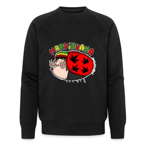 Marvihuana - Männer Bio-Sweatshirt