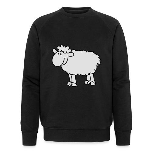 Schaf2 - Männer Bio-Sweatshirt