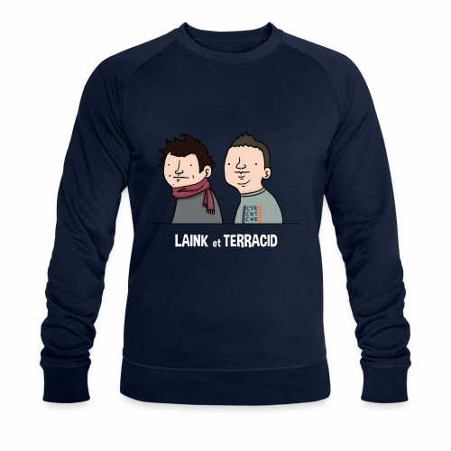 Laink et Terracid old - Sweat-shirt bio Stanley & Stella Homme