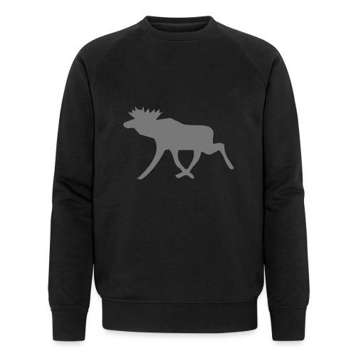 Schwedenelch; schwedisches Elch-Symbol (vektor) - Männer Bio-Sweatshirt von Stanley & Stella