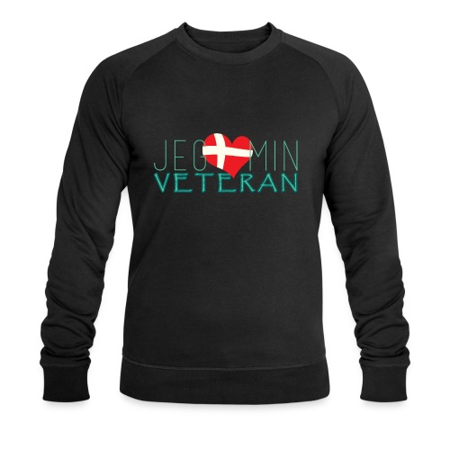 Jeg Elsker Min Veteran - Økologisk sweatshirt til herrer