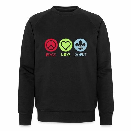 Peace Love Scout - Sweat-shirt bio Stanley & Stella Homme