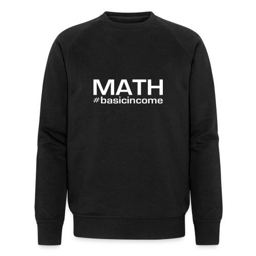 math white - Mannen bio sweatshirt van Stanley & Stella