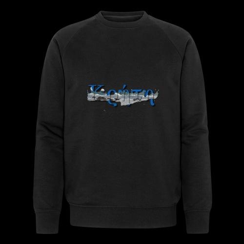 kreta strand - Männer Bio-Sweatshirt von Stanley & Stella