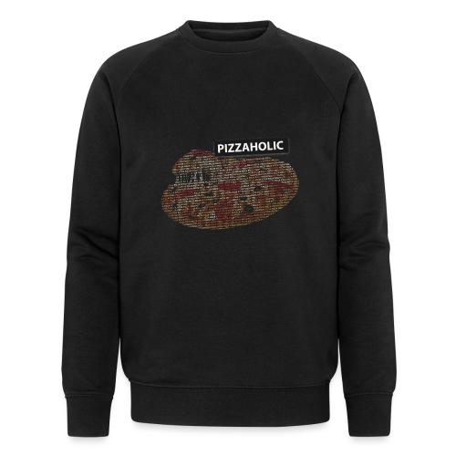 Pizzaholic - Økologisk sweatshirt for menn fra Stanley & Stella