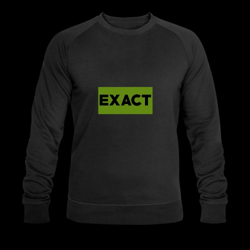 Exact Classic Green Logo - Men's Organic Sweatshirt by Stanley & Stella