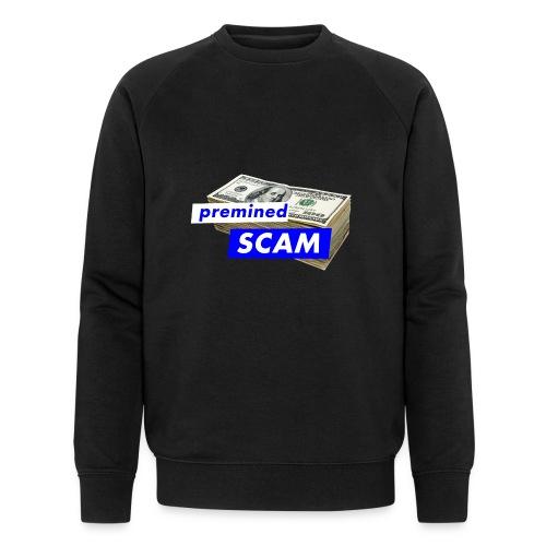 premined SCAM - Men's Organic Sweatshirt by Stanley & Stella