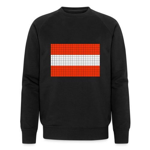 austrian flag - Felpa ecologica da uomo