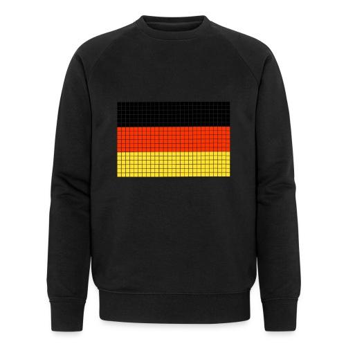 german flag.png - Felpa ecologica da uomo