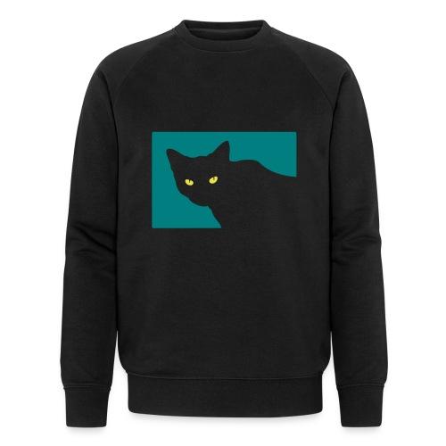 Spy Cat - Men's Organic Sweatshirt by Stanley & Stella
