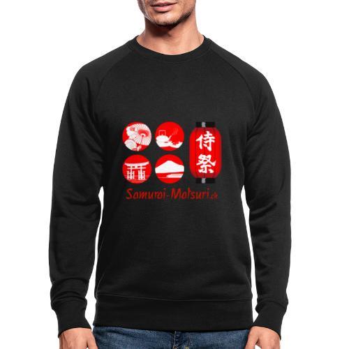 Samurai Matsuri Festival - Männer Bio-Sweatshirt
