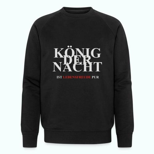 KÖNIG DER NACHT - Männer Bio-Sweatshirt von Stanley & Stella