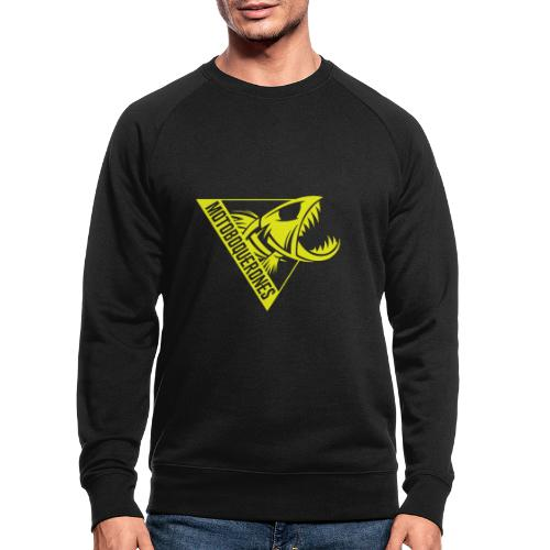 Logo Motoboquerones amarillo - Sudadera ecológica hombre
