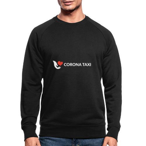 CORONA TAXI - Männer Bio-Sweatshirt