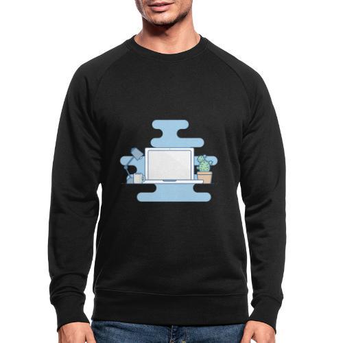 Arbeitstisch - Männer Bio-Sweatshirt