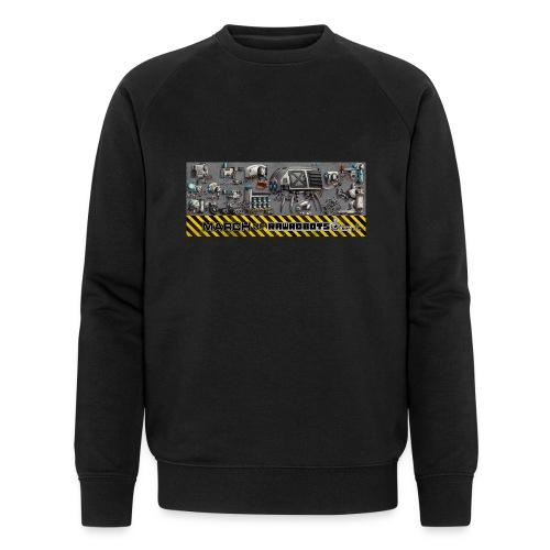 #MarchOfRobots ! LineUp Nr 1 - Økologisk sweatshirt til herrer